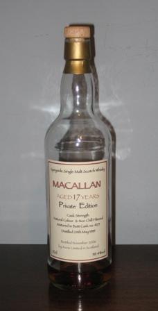 THE MACALLAN Private Bottling: Butt Cask #8271